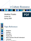 Syrian Culture Resource