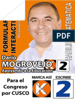 FORMULARIO PREUNIVERSITARIO