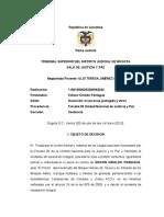 Sentencia El Pitufo- Primera Instancia 2012