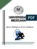Bases Biologicas de La Conducta U Mexicana
