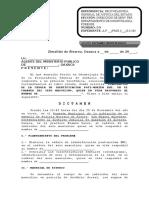Dictamen Odontología Forense