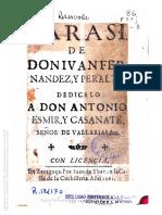 Folha de rosto D. António