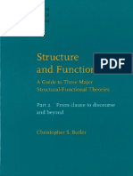 Christopher S. Butler Structure and Function a