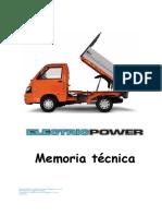 Memoria Tecnica ElectricoPE