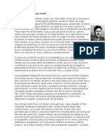 Biografía George Orwell
