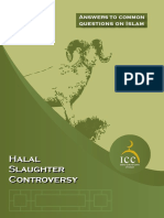 Halal Slaughter Controversy