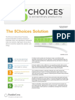 5 Choices Slipsheet