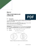 Bab 6 Transformasi Linear