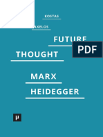 Axelos Future_Thought Marx Heidegger