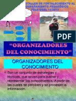 Exposicion Actual de Organizadores