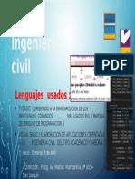 Curso de Programación en Ingeniería Civil