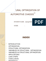 Structural Optimization Automotive Chassis heavy vehicle