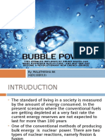 bubble power ppt
