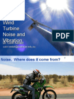 Wind Turbine Noise and Vibration