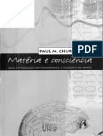Materia e Consciencia - Uma Int - Paul M. Churchland