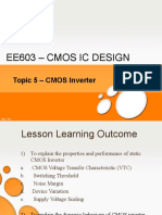 Topic 5 - Cmos Inverter