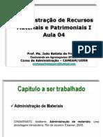 Aula 04 - Administração de Recursos Materiais e Patrimoniais (1)
