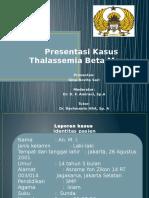 Presentasi Kasus thalassemia