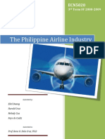 The Philippine Airline Industry