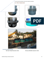 MS Slip Type Expansion Joints, Pipe Compensator, Manufacturer