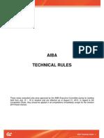 AIBA Technical Rules - August 31, 2014