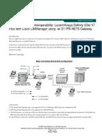 Cisco 2621 - PBX Interoperability