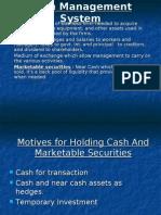 Cash System