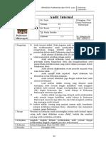 SPO Audit Internal