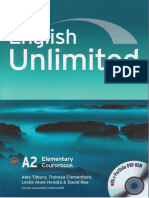English Unlimited Elementary TextBook