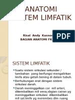 Anatomi Sistem Limfatik,Blok 6