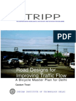 Road Designs for Improving Traffic Flow
