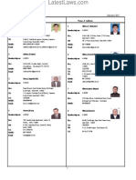 List of Supreme Court Bar Association Members