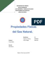 Propiedades Fisicas Del Gas.