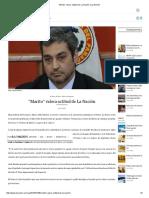 """""""Marito"""" Valora Actitud de La Nación _ La Nación"""