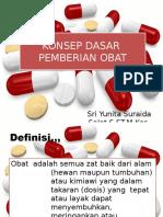 Konsep Dasar Pemberian Obat