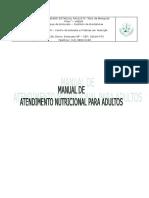 Manual de atendimento nutricional para adultos