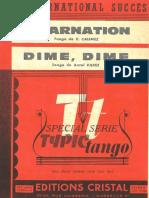 V. Calminez - Incarnation - Tango - Band Sheet Music