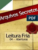 04 Arquivos Secretos LF Aberturas