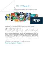 Ethics Report on P&G