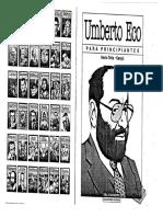 Eco, Umberto - Eco Para Principiantes