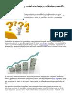 Artículo Marketing todavía trabajo para Businessh en línea