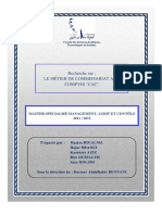 Le Métier de Commissaire Aux Comptes Au Maroc