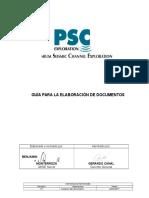 Seg g 01 - Guia Para La Elaboracion de Documentos