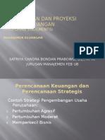 MK Perencanaan Dan Proyeksi Laporan Keuangan Pertemuan 4
