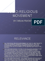 17.Socio Religious Movement