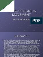 17.Socio Religious Movement