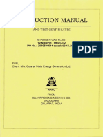 nitrogen plant Operation Manual With Drawing