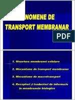 Curs Membrane Prezentare