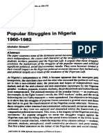 Abubakar Momoh (1996) Popular Struggles in Nigeria