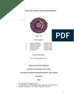 Proposal Manajemen Wirausaha Farmasi